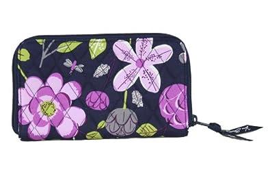 Vera Bradley Zip Around Wallet in Floral Nightingale