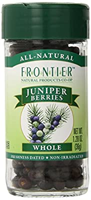 Frontier Juniper Berries, Select Whole 1.28 oz. Bottle (a)