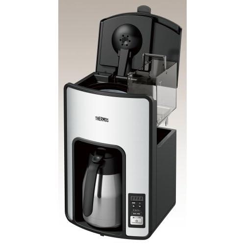 THERMOS 真空断熱ポット コーヒーメーカー 【タイマーで前日予約が可能】 ECH-1000 CS