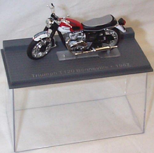 ixo triumph T120 bonneville 1967 bike 1.24 scale diecast model