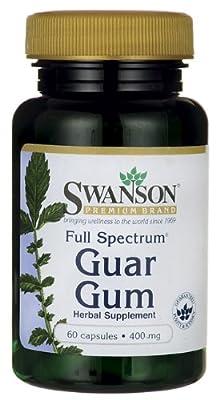 Full Spectrum Guar Gum 400 mg 60 Caps