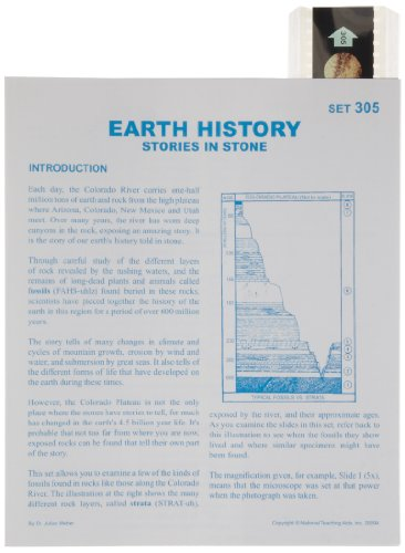 American Educational Microslide Earth History Lesson Plan Set