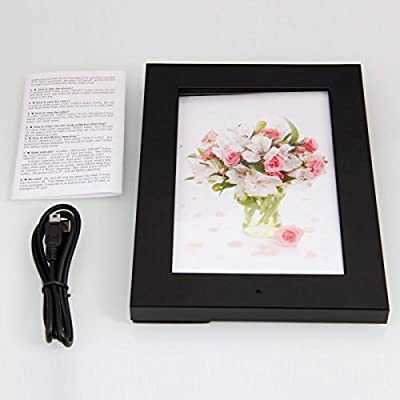 Picture Frame Hidden Nanny Spy HD Video Camera / Microphone with Motion Detection Feature