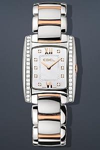 EBEL Women's 1215922 Brasilia Analog Display Swiss Quartz Two Tone Watch