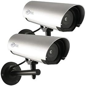 Cameras Flashing