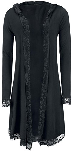 Forplay Lace Cardigan Cardigan donna nero L