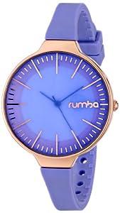 RumbaTime Women's 19176 Orchard Gold Analog Display Japanese Quartz Purple Watch