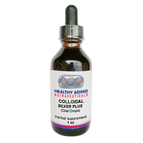 Healthy Aging Nutraceuticals Colloidal Silver Plus Oral Drops, 1-Ounce Bottle