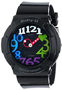 Casio Women's BGA-131-1B2CR Baby-G Analog Display Quartz Black Watch
