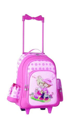 Stefano Kinder Reisetrolley für Mädchen, rosa