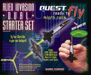 RTF Micro Alien Invasion Dual Starter Set HAZS