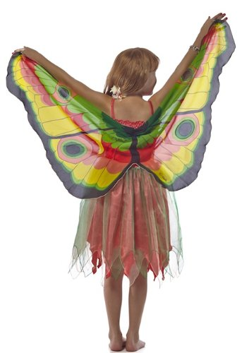 Douglas Toys Childrens' Yellow Butterfly Dreamy Dress-up Costume-small