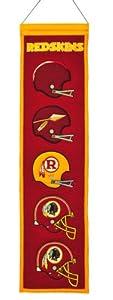 NFL Washington Redskins Heritage Banner by Winning Streak