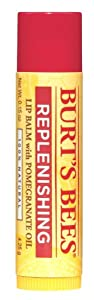Burt's Bees Lip Balm, Pomegranate Oil, 0.15 Ounce (Pack of 4)