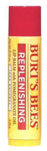 凑单品:Burt's Bees 小蜜蜂 Replenishing Lip Balm 石榴保湿润泽唇膏 4支装 $8.83