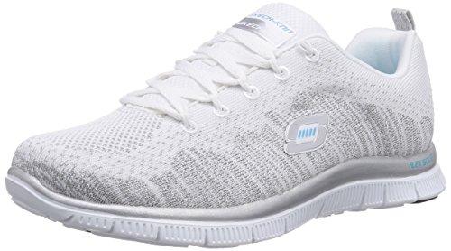 skechers-flex-appeal-instant-hit-damen-sneakers-weiss-wsl-35-eu