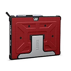URBAN ARMOR GEAR Microsoft Surface 3 Composite Case, Red/Black