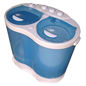 Portable Caravan Twin Tub Washing Machine Compact Mini Size 2.0 kg Capacity 220v