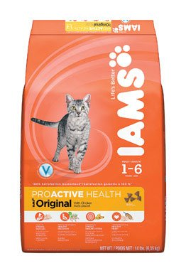 See Iams Proactive Health Adult Original with Chicken, 14-Pound Bags
