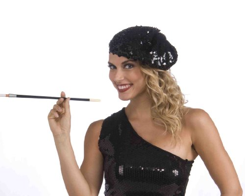 Forum Novelties Roaring 20's Sequin Flapper Beret