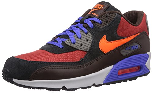 Nike - Scarpe da ginnastica Air Max 90 Winter Premium, Uomo, Multicolore (Mehrfarbig (Red clay/hyper crimson-blck pn 600)), 41