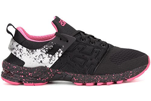 ASICS GT DS Retro Running Shoe, Black/Knock Out Pink, 9 M US