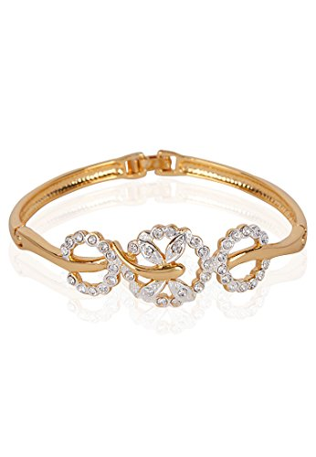 Estelle Estelle Gold Plated Bracelet With Crystals(101210) (Transperant)