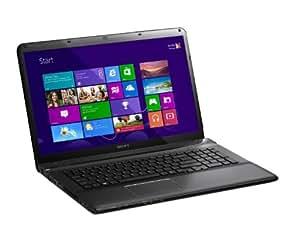 Sony VAIO SVE1712Z1EB 43,9 cm (17,3 Zoll) Notebook (Intel Core i7 3632QM, 2,2GHz, 8GB RAM, 1000GB HDD, AMD HD 7650M (2GB), Blu-ray Brenner, Win 8) schwarz