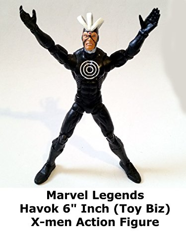 "Marvel Legends HAVOK 6"" inch X-men Review (Toy Biz Giant Man series) action figure"