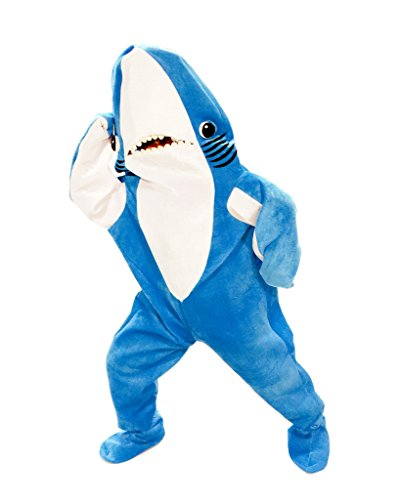Katy Perry Left Shark Adult Plus Costume (XX-Large) (Dancing Shark Costume compare prices)