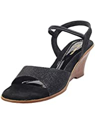 Lamere Women's Fashion Synthetic Black Heels (LA-536)