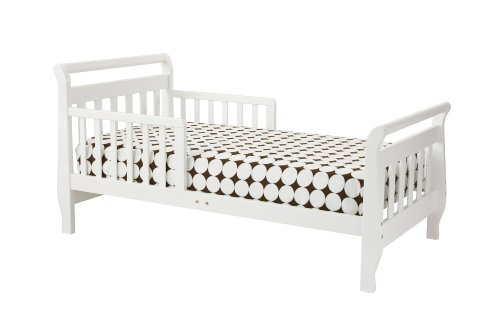 Why Should You Buy DaVinci Sleigh Toddler Bed - White