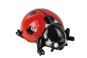 Ladybird by Vivid Arts, brightly coloured wall or garden decoration (size F)