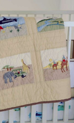 Whistle and Wink Adventure Nursery 613 Quilt