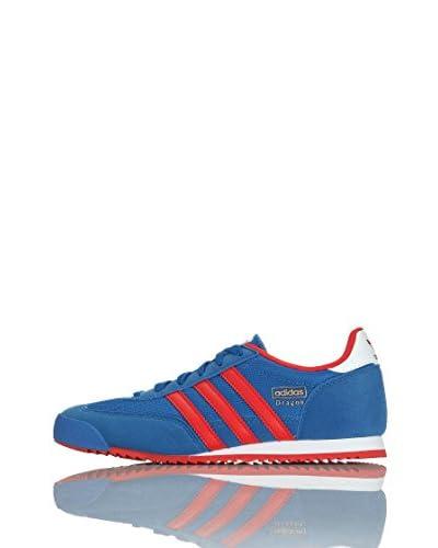 adidas Sneaker Dragon J [Blu/Rosso/Bianco]