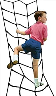 Climbing Cargo Net Black for Swing Se…
