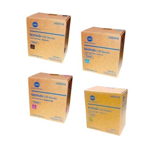 konica-minolta-bizhub-c35-toner-cartridges-black-cyan-magenta-yellow-by-konica-minolta-bizhub-color