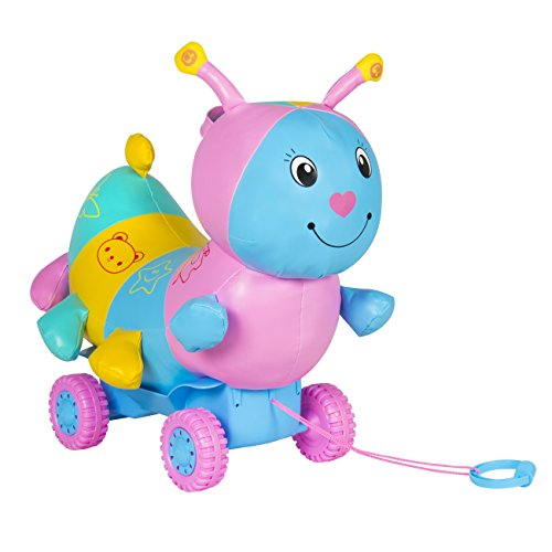 Best-Choice-Products-Ride-On-Caterpillar-w-Wheels-Educational-Musical-Kid-Toy-Car-Child-Colorful-NEW