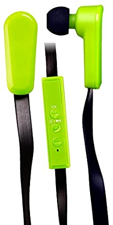 buy Qfx H-150Btgrn/Lim Bluetooth Stereo Earphones With Microphone, Green