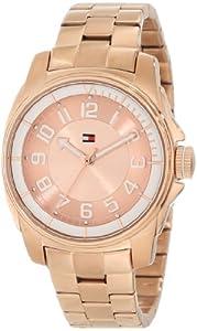 Tommy Hilfiger Women's 1781230 Sport Bracelet White Bezel Watch