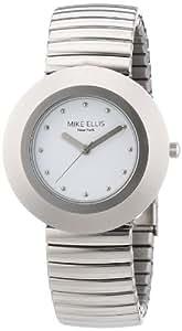 Mike Ellis New York Damen-Armbanduhr XS Analog Quarz Edelstahl L2234ASM/1