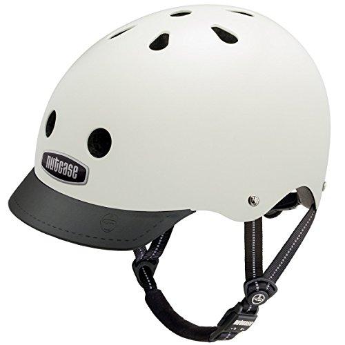 Nutcase Gen3 Casque de skate/vélo Medium Blanc - Crème