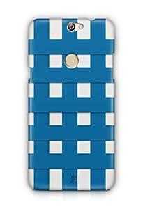 YuBingo Blue Square Pattern Mobile Case Back Cover for Coolpad Max