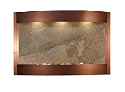 Calming Waters Water Feature with Green FeatherStone (Copper Vein)