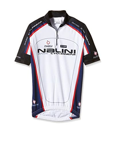 Nalini Maillot Ciclismo Antracite Blanco / Azul Marino