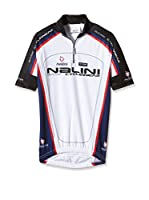 Nalini Maillot Ciclismo Antracite (Blanco / Azul Marino)