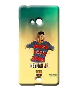 Illustrated Neymar - Sublime Case for Microsoft Lumia 540
