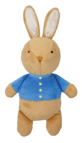 Kids Preferred My First Plush Toy with Squeaker, Peter Rabbit (Discontinued by Manufacturer)