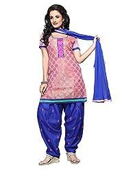 Lookslady Black Bhagalpuri Salwar Suit