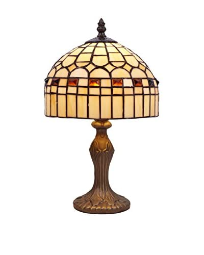 Tiffany tafellamp beige Luz
